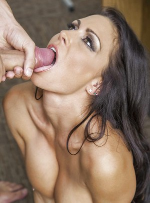 Milf cum in mouth